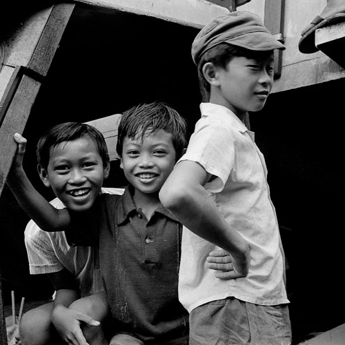 Scotty Stevenson photograph, Singapore Lorry Boys, 1973
